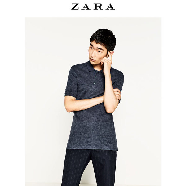 ZARA men's fall and winter discounts beads puma shirt 09240318400