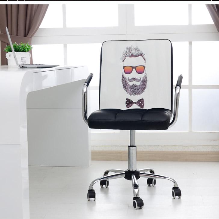 電腦椅家用辦公椅升降轉椅工作 凳 座椅子職員弓形椅