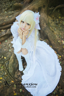 cosplay clothes chobits small humanoid computer Angel Heart grumble gorgeous JSK dress princess dress COS