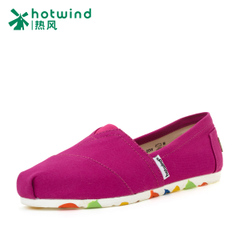 Hot spring/summer shoes new ladies casual shoes red one was wearing canvas shoes 731H15116