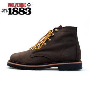 16新款渥弗林wolverine1883户外鞋登山靴休闲工装中邦短靴大码