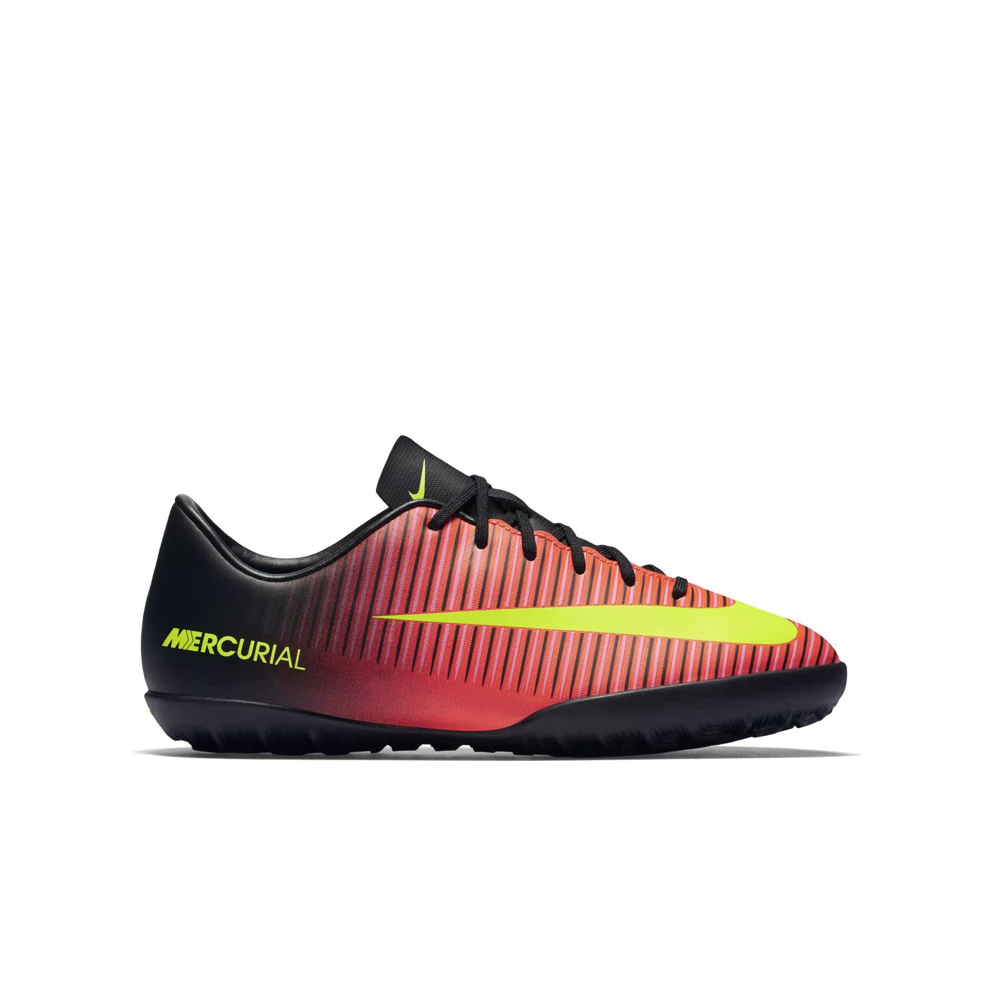 Nike耐克官方JR. MERCURIAL VAPOR XI刺客人造場地足球童鞋83194