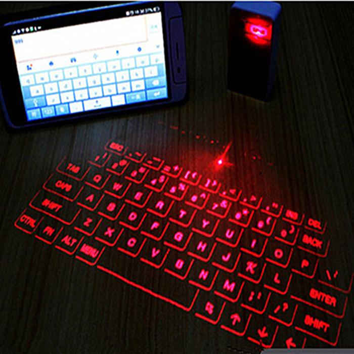 激光投影键盘鼠标_镭射无线投影虚拟键盘