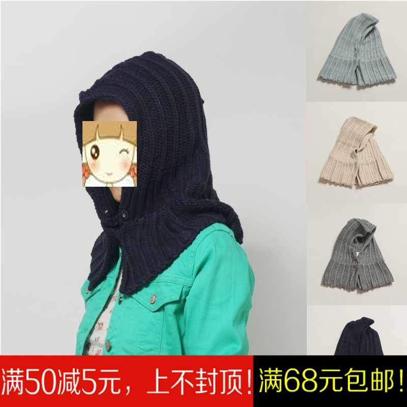 Оригинальные унисекс плечо открытый холодный ветер теплой осенью и зимой езда шлем шляпу хлопка шерсти шляпа