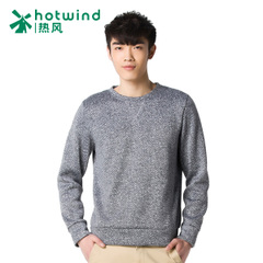 Spike new men's round neck pullovers caught down shirt casual City boy Korean sweater 20W4900