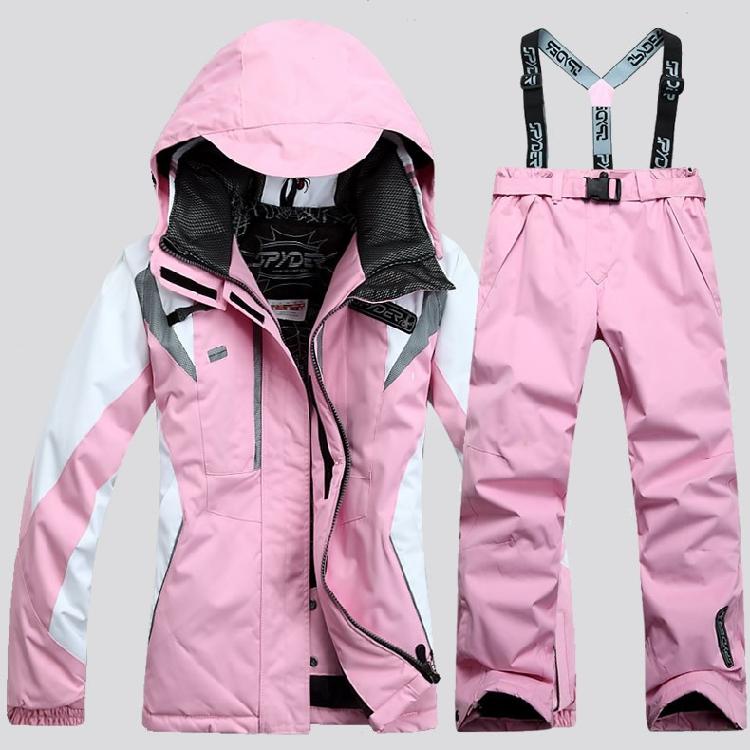 Новые подлинной спорта на открытом воздухе дамы проложенные лыжные одежды подходит для зарядки одежды хлопка брюки водонепроницаемый ультра теплые
