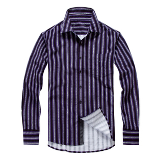 2015 Hitz striped shirt authentic men s cotton men s long sleeved shirt HMHD3H126