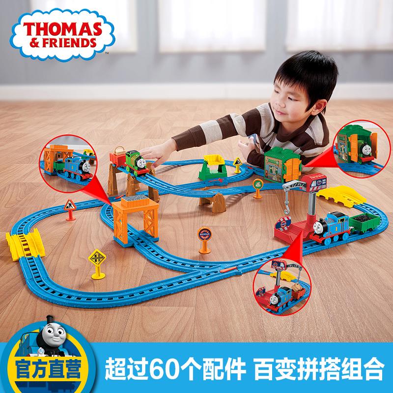 Томас электрический маленький поезд трек игрушка много остров разнообразие установите CGW29 ребенок обучения в раннем возрасте игрушка поезд
