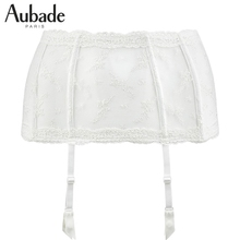 French luxury Aubade girdle bride garter Isfahan rose series HC52