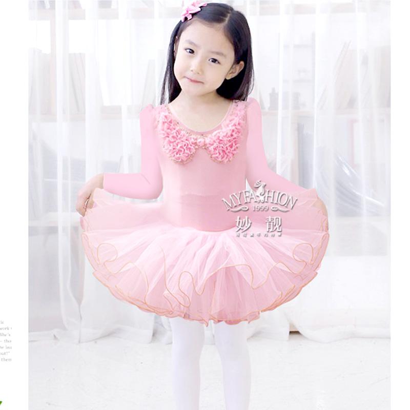 Детский хор костюмы танец одежды девушки одежды детей день шоу Весна/летняя одежда упражнение одежда хлопка танец юбки из