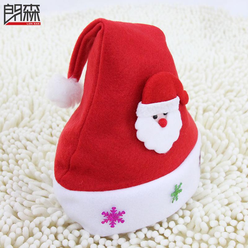 Мужчина лес рождество шляпы сын рождество одежда красный рождество шляпы специальное предложение санта-клаус одежда елки рождество декоративный