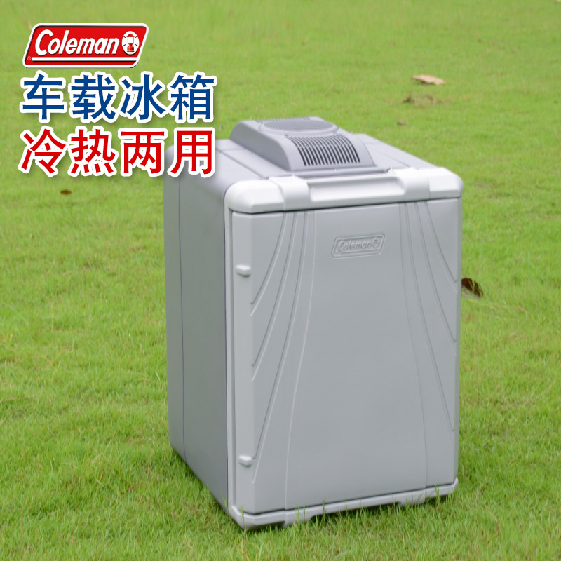 Coleman семья сдерживать человек автомобиль холодильник благополучие коробка холодный тибет сохранение тепла коробка автомобиль 12V электронный холодильник сша на импорт