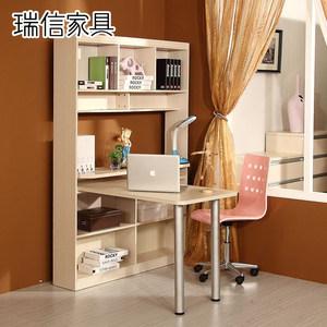 瑞信家具多功能转角电脑桌带书架组合家用连体柜书桌柜137