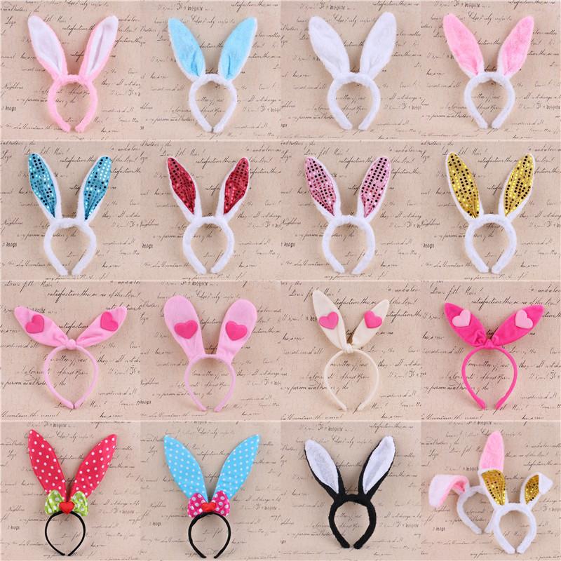 Chen волны COS кролик кролик ухо головной убор заставка выпуск карты заставка блестки кролик уши партия кролик наряд играть