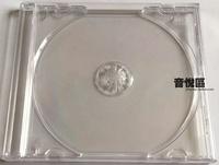 Импорт высокая качество один Диск 1CD CD коробка пустая коробка прозрачная один Коробка для диска Коробка для диска
