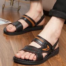 Summer men sandals han edition authentic fashion leisure breathable slippers cooler