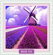 Diamond painting party drill drill with lavender landscape series of the sitting room the bedroom restaurant sharply the latest drilling cross-stitch