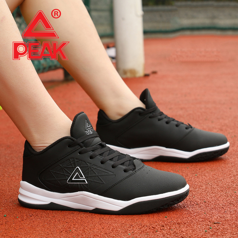 Peak basketball shoes mens low top summer autumn 2018 wear resistant shock absorption lightweight breathable student sports shoes mens shoes