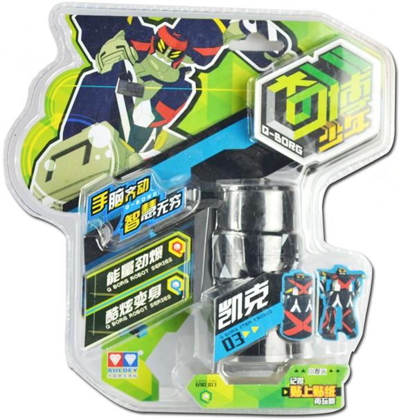 正品�W迪�p�@魔方奇博少年�C器人�形魔方玩具��行魔 �P克690303
