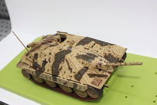 """21世纪1:32 兵人二战德军""""追猎者"""" 坦克模型轻型反坦克自行火炮"""