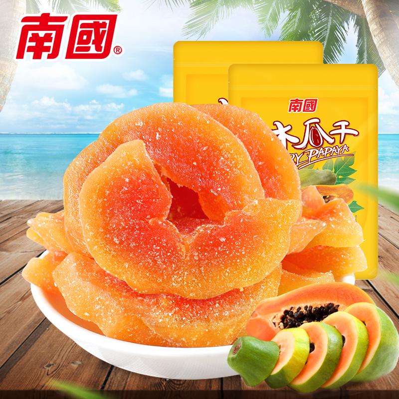 Хайнань специальный свойство южная страна папайя сухой 116g*2 мешок свежий тендер папайя мясо папайя лист еда офис комната нулю еда небольшой есть