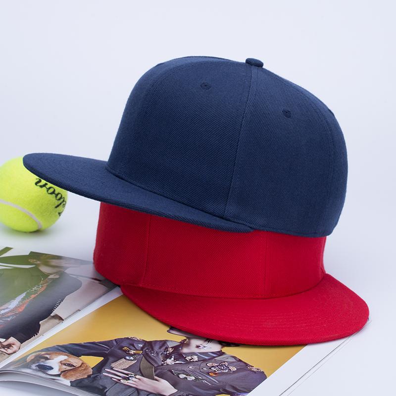 定做diy棒球帽渔夫帽广告帽平沿帽儿童logo印字刺绣定制鸭舌帽子9.8