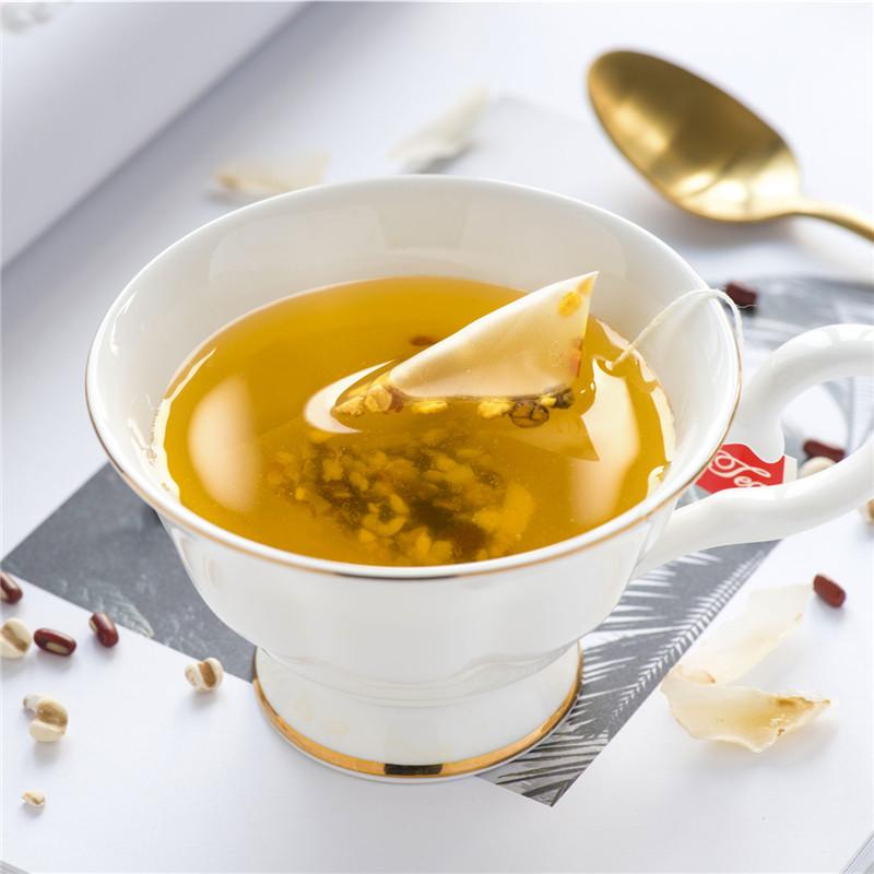 十种原料 薏米红豆百合茶 赤小豆化湿茶茯苓栀子芡实橘皮泡茶24袋【券后18.80元】