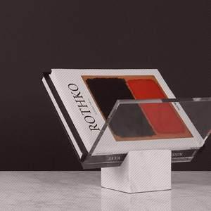 /简约现代几何创意大理石书架收纳摆件书房书柜装饰软装陈设