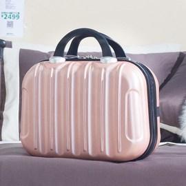 迷你手提化妆箱小清新漂亮旅行子母旅行箱的子包12寸16大容量方包图片