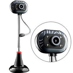 高清USB臺式機電腦外置攝像頭帶麥克風話筒網吧夜視雨花石USB免驅