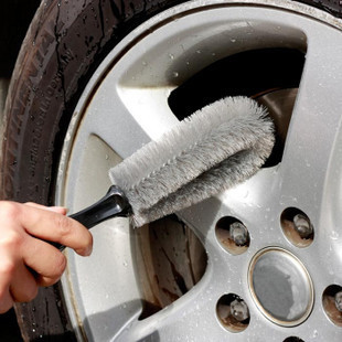 Automotive wheel brush cleaning brush wheel car wheel tire wheel cleaning brush child does not hurt hub