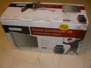 New Music Experience Sonos S5 ZonePlayer Music Center
