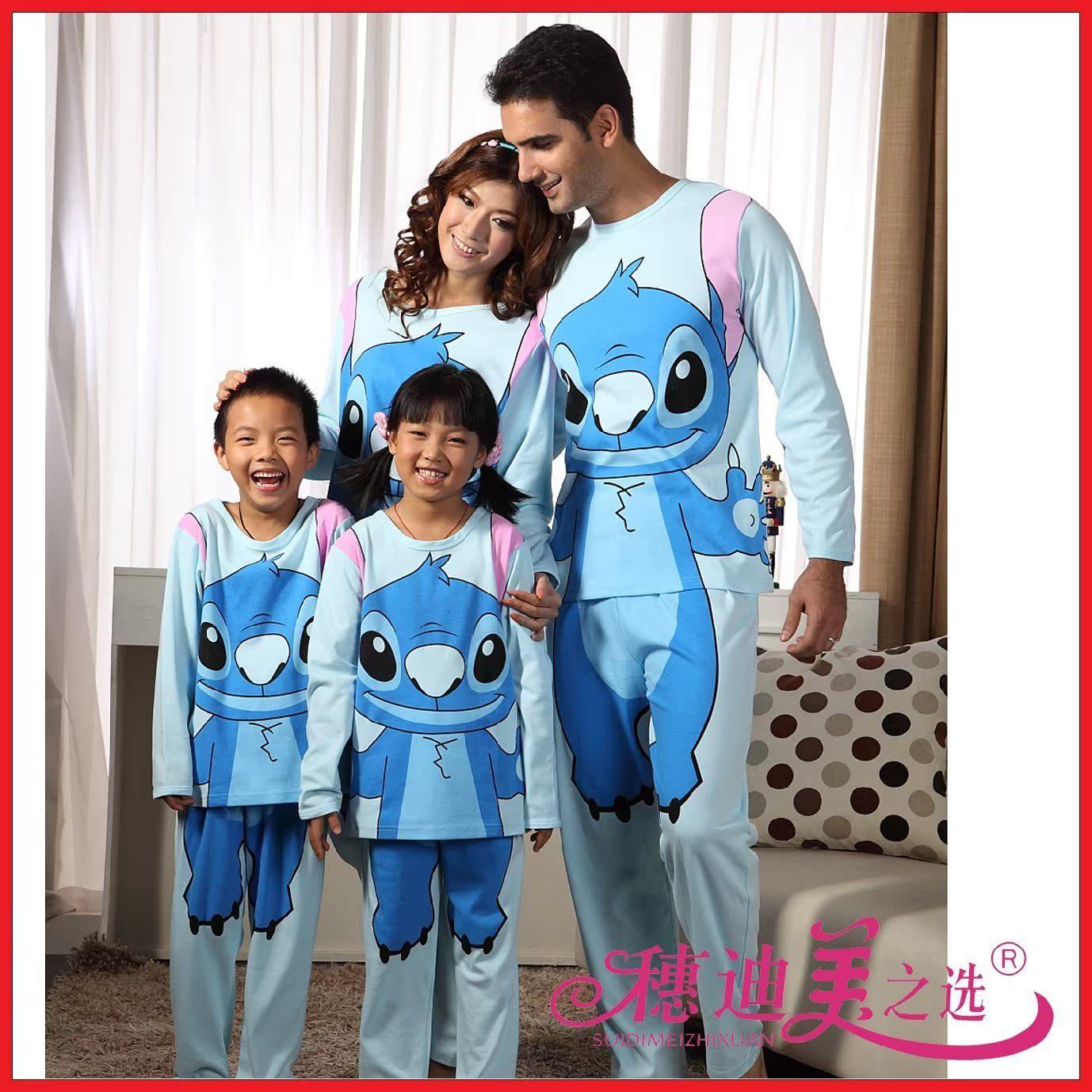 На продажу! Стежка Осенняя звезда хлопок baby монстр детей мультфильм любителей с длинным рукавом пижамы услуги на дому