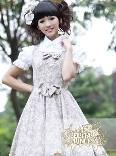 [L & amp; p] Roman Holiday Princess Lolita dress lovely lady butterfly knot vest skirt tutu Japanese Complex