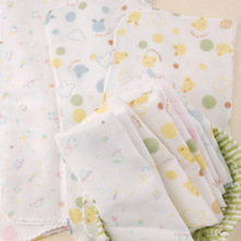 Design and color is nishimatsu housing double gauze cloth/saliva towel, bath towel/wash your face