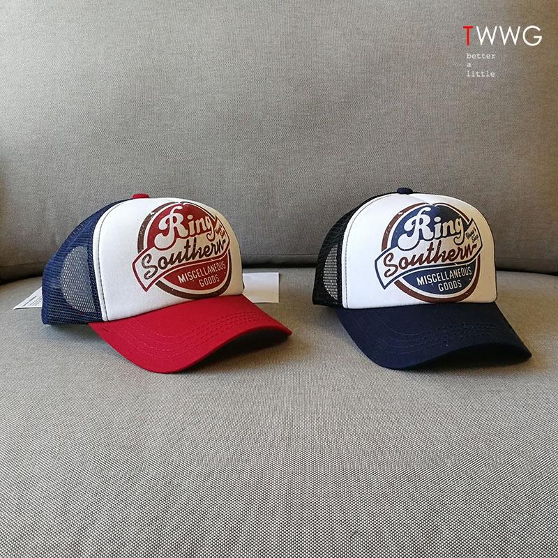 夏季网帽男女韩国版户外遮阳防晒太阳帽鸭舌帽卡车货车帽棒球帽潮