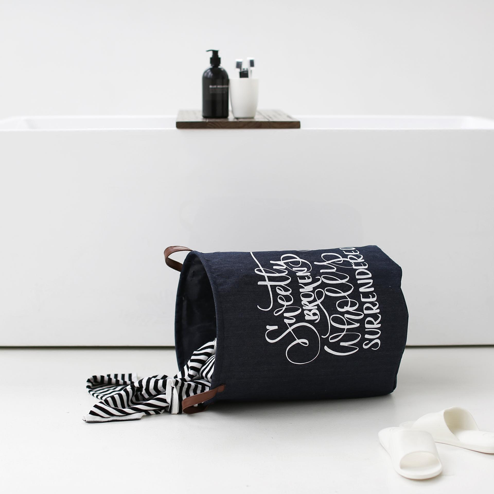 Оригинальный дизайн водонепроницаемый прачечная корзина хранение баррель ткань грязный одежда корзины складные игрушка мусор одежда хранение корзина