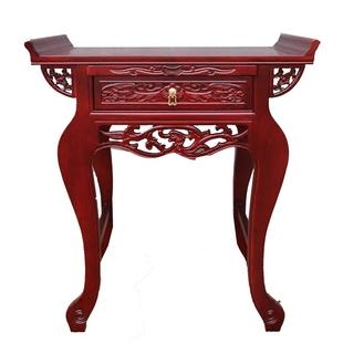 中式實木供桌供台現代簡約佛台條案佛案家用神桌觀音立櫃佛櫃貢台