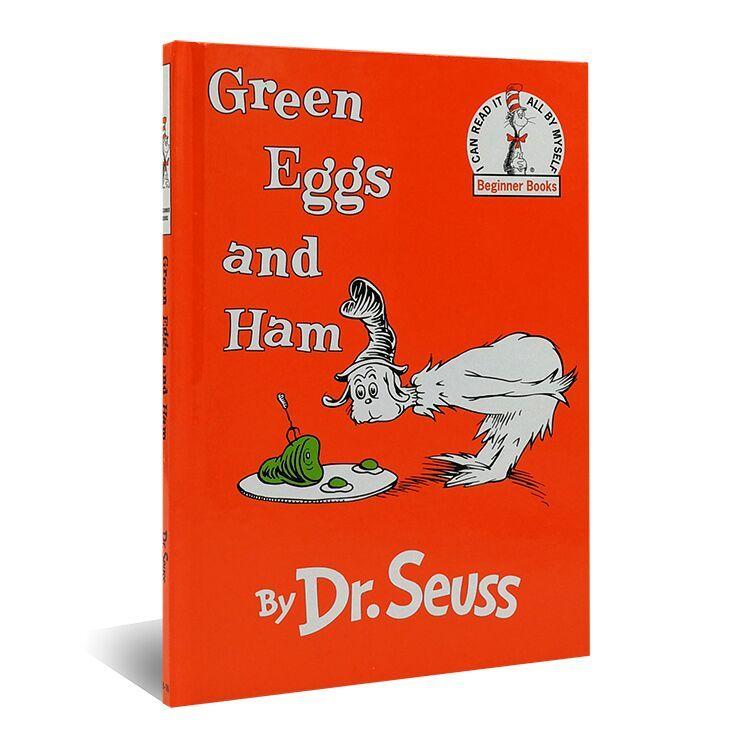八库苏斯博士双语经典第2级:绿鸡蛋和火腿(精装绘本)(美)苏斯博士9787500151883中国对外翻译