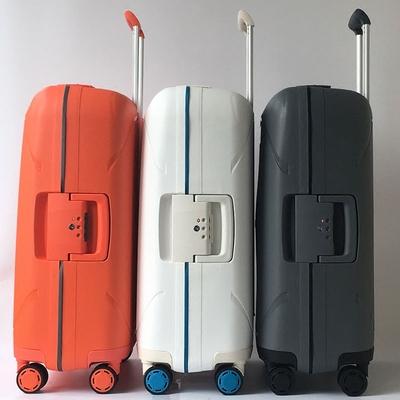 银座防刮拉杆箱PP外贸出口行李箱女小型防摔登机箱子超轻男20寸24