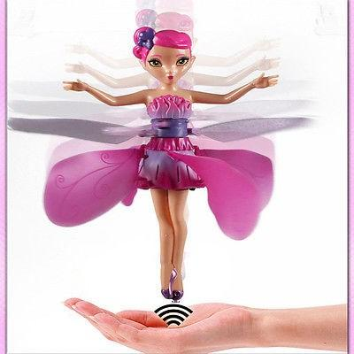 flying fairy magic doll infrared induction control dolls fly