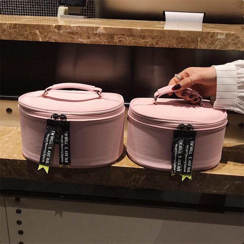 可爱少女心化妆包女韩国大小号化妆箱便携大容量收纳包手提洗漱包券后39.90元