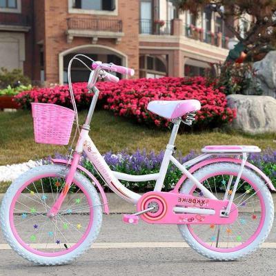 两轮儿童自行车20寸16/18寸女孩公主单车6-8-10-12岁小学生女童车