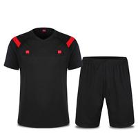 2017 профессиональная футбольная армейская одежда комплект короткий рукав Лига матча рефери одежды оборудования поставок воздухопроницаемый лето