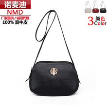 Ladies handbags leather handbag of new fund of 2015 autumn small baotou layer cow leather bag, female fashion single shoulder bag