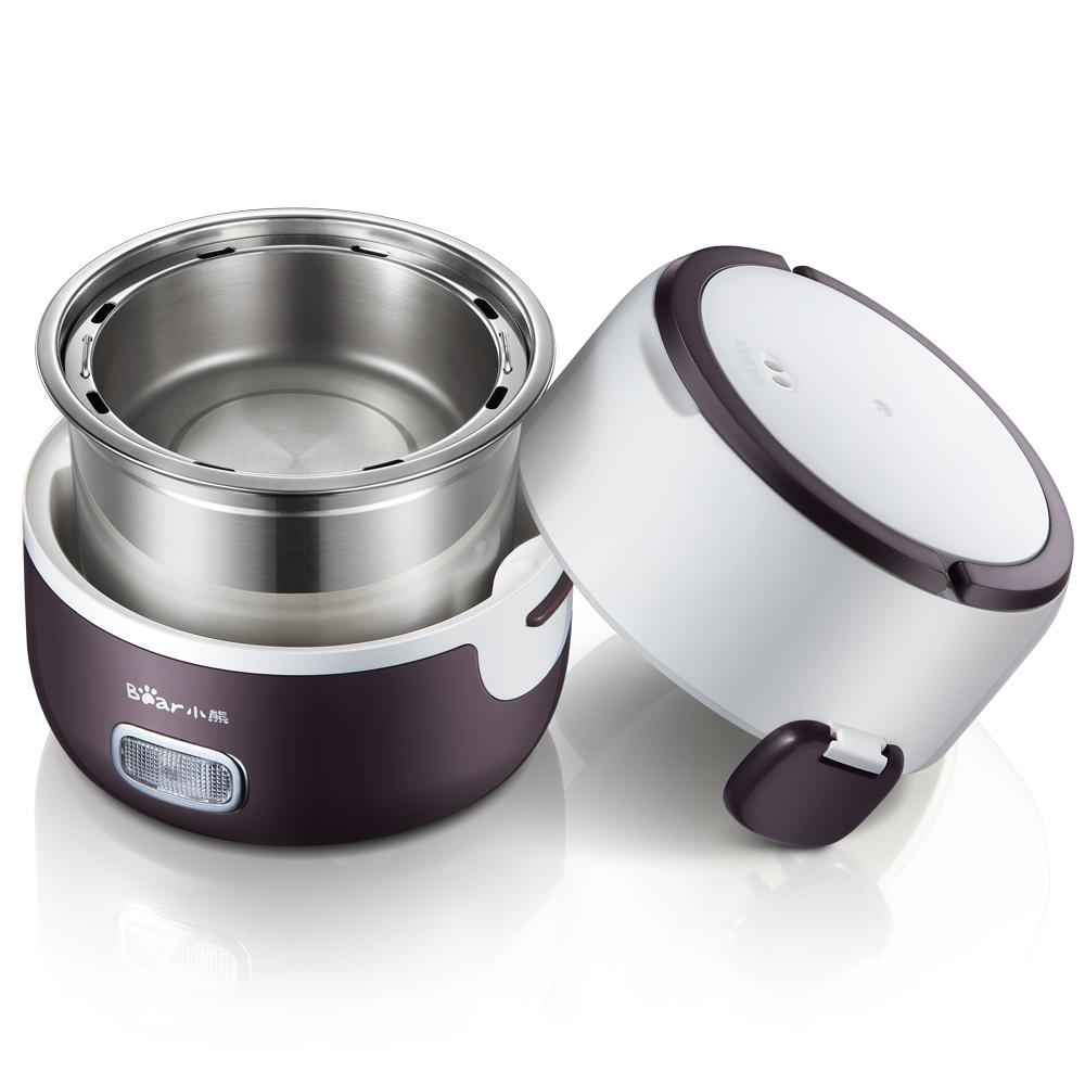 小熊電飯盒DFH~S2016不鏽鋼內膽 電熱飯盒 加熱飯盒插電蒸煮
