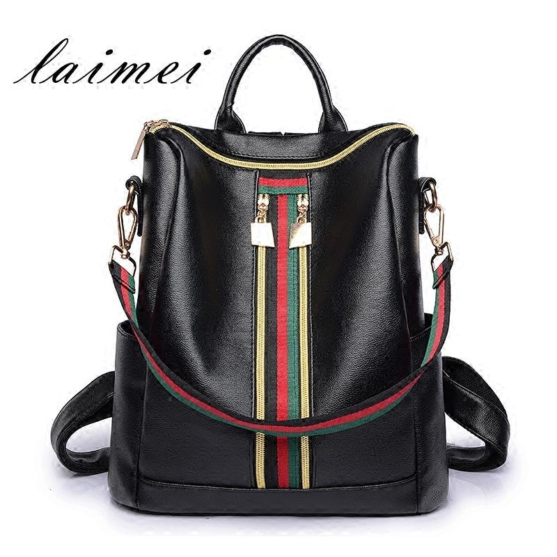 Рюкзак женщина корейский 2017 новый приток мешки модный, подходит ко всему любитель личность студент портфель мама рюкзак
