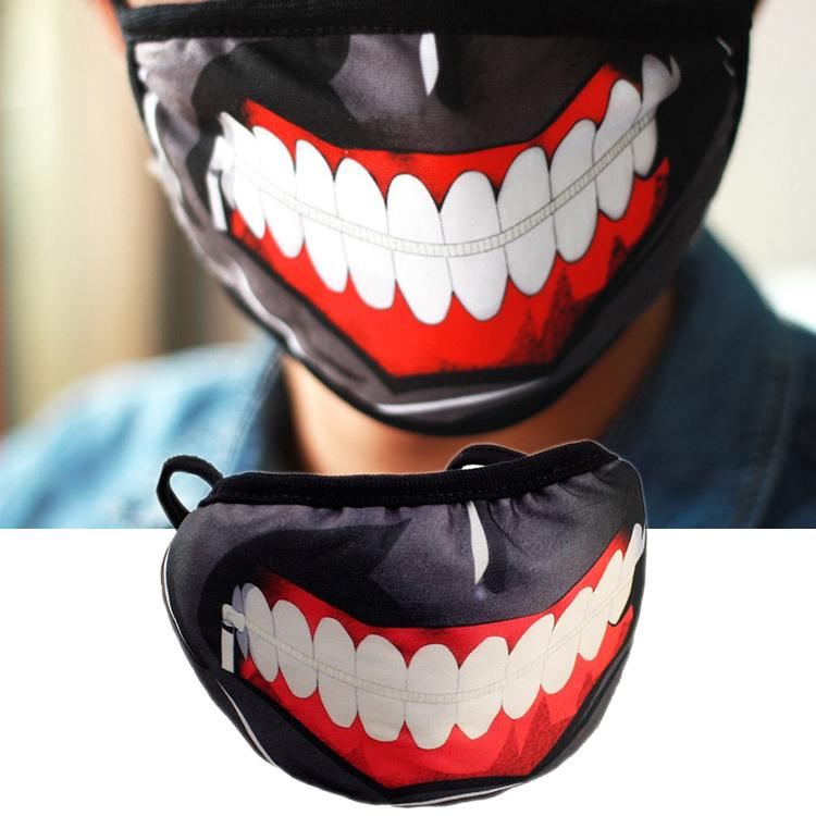 tokyo ghoul party mask maskcotton cool mask anime cosplay ma