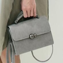 8936新款时尚优雅小香风女包磨砂包百搭手提包潮流单肩斜挎包小包