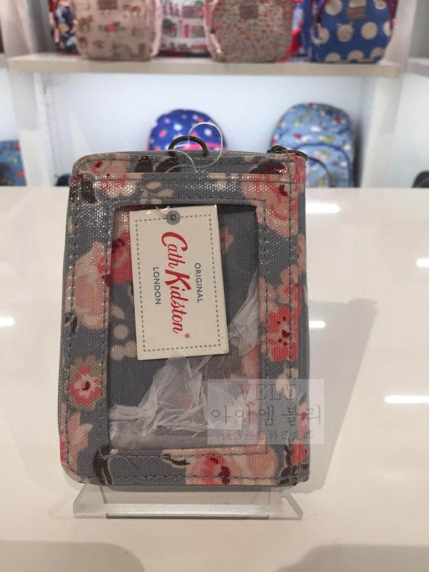 『2件95折』英国Cath Kidston正品直送碎花旅游短款日用钱包卡包